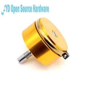 Image 2 - 1 шт., точный проводящий пластиковый потенциометр, датчик углового перемещения 1K, 2K, 5K, 10K, линейный 0.5%