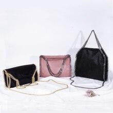 a26f4081e Mulheres da Cadeia Da moda Sacos de Pvc Importado de Couro de Luxo Bolsas  Cadeia Saco