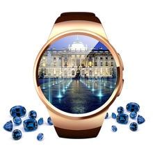 KW18 Herzfrequenz Smartwatch Uhr Für iPhone Android-Handy Neue Ankunft Bluetooth Smart Uhr Tragbare Geräte Armbanduhr