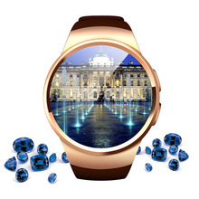 KW18 Heart Rate Smartwatch Clock For iPhone Android Phone New Arrival Bluetooth Smart Watch Wearable Devices Wristwatch