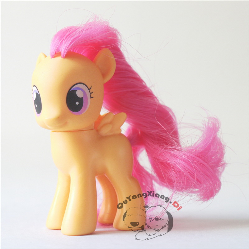P6-03 Action Figures 6.5cm Little Cute Horse Model Doll Crusaders Scootaloo Anime Toys For Children