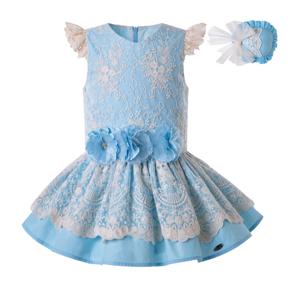 Pettigirl Summer for Girls Dress Lace Princess Party Child Wedding Party Kids Porno Elegant Frocks Clothes