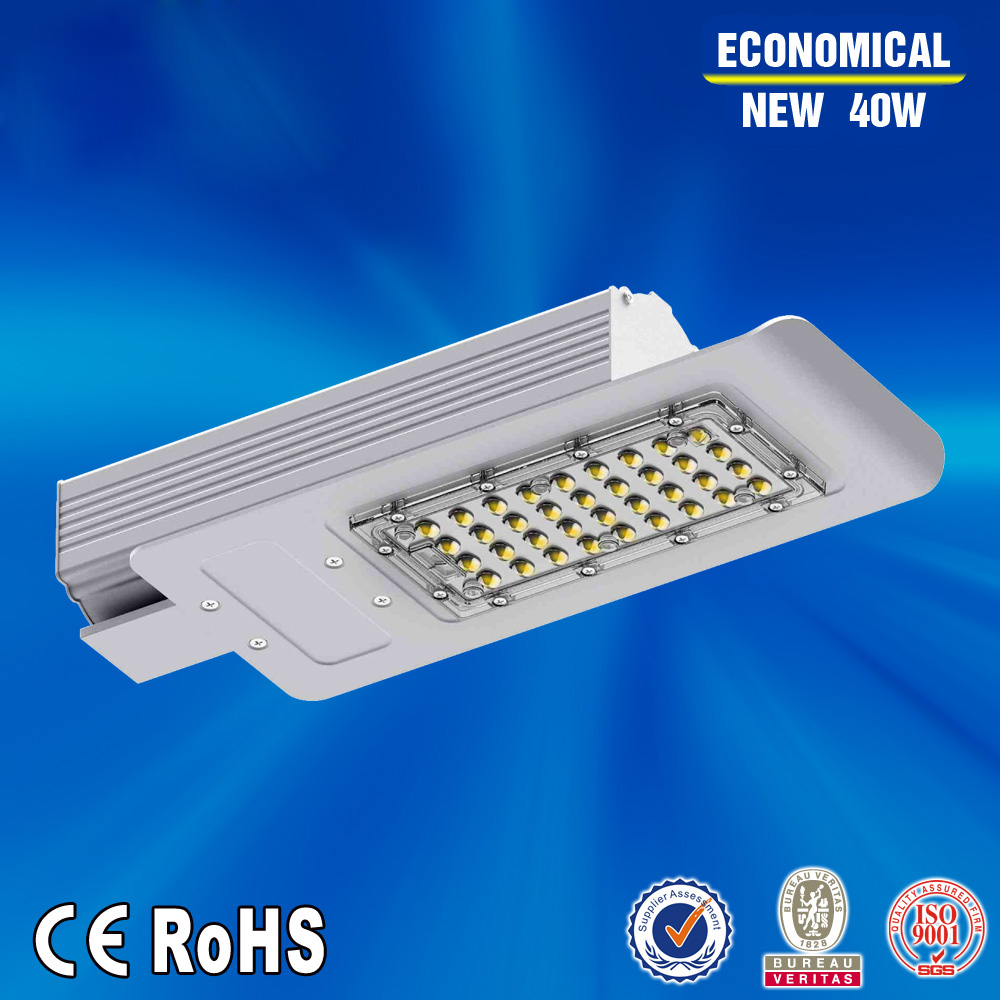 High quality 40W AC85-277V Led Street light  adjustable street lighting meanwell driver hole size 60mm DHL Free shipping 90w led driver dc40v 2 7a high power led driver for flood light street light ip65 constant current drive power supply