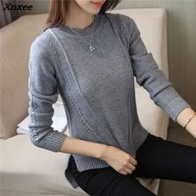 Xnxee 2018 women fashion sweater Korean autumn new womens shirt