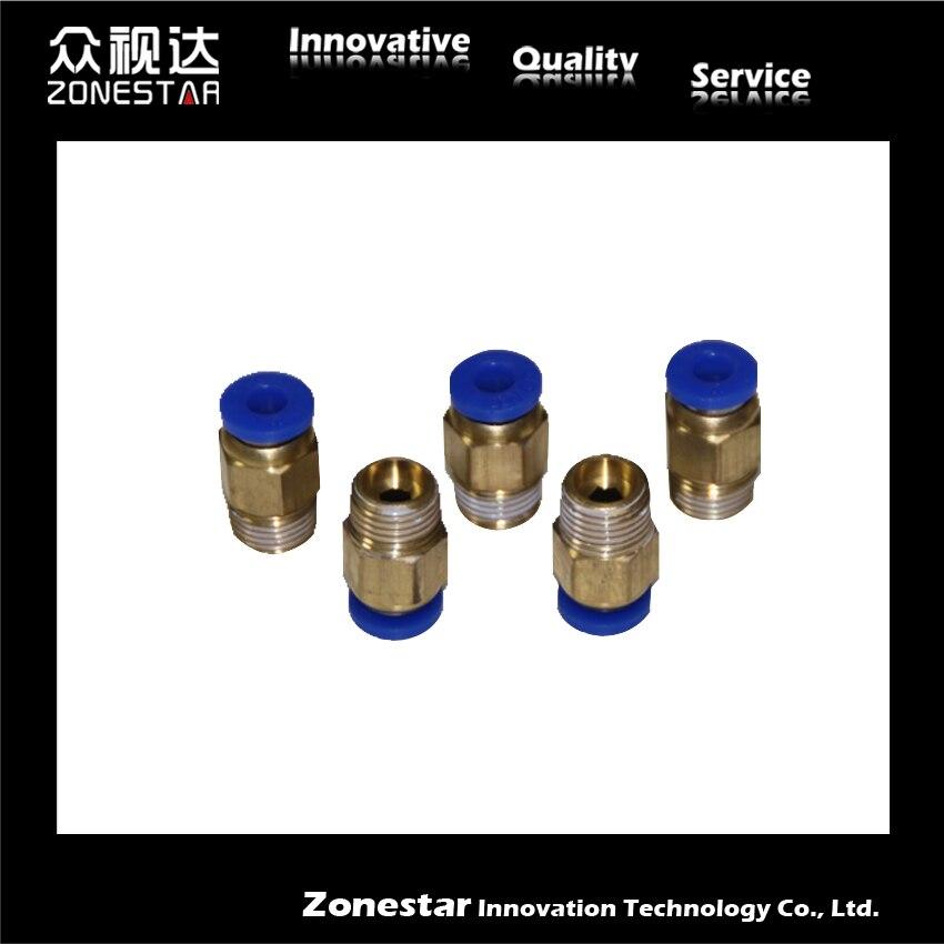 "Air Pneumatic Connection 1/4"" 3D Printer Parts&Accessories for Bowden Extruder 3D Printer DIY kit Reprap PC08-01"
