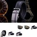hot sale Fashion Men Belt Automatic Buckle Brand Designer Leather Belts For Business Men