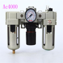 AC Series FRL, UFRL, Filter + Regulator Lubricator combination S MC AC4000 series