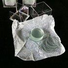 100pcs 15mm Diameter Round Microscope Glass Slide Cover Slips Blank Microscope Slides