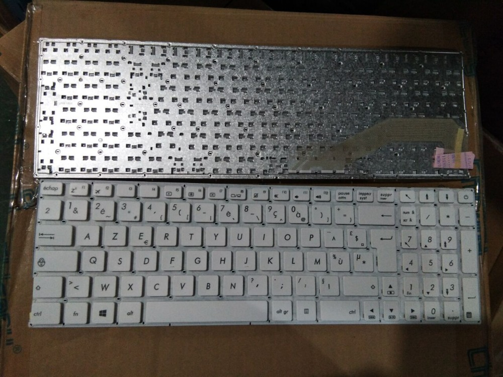 New Laptop keyboard for ASUS  X540 X540L X540CA X540SA X540LA X540SC  FR/French layout new laptop keyboard for asus 0kn80 1120fr00 black windows 8 french layout