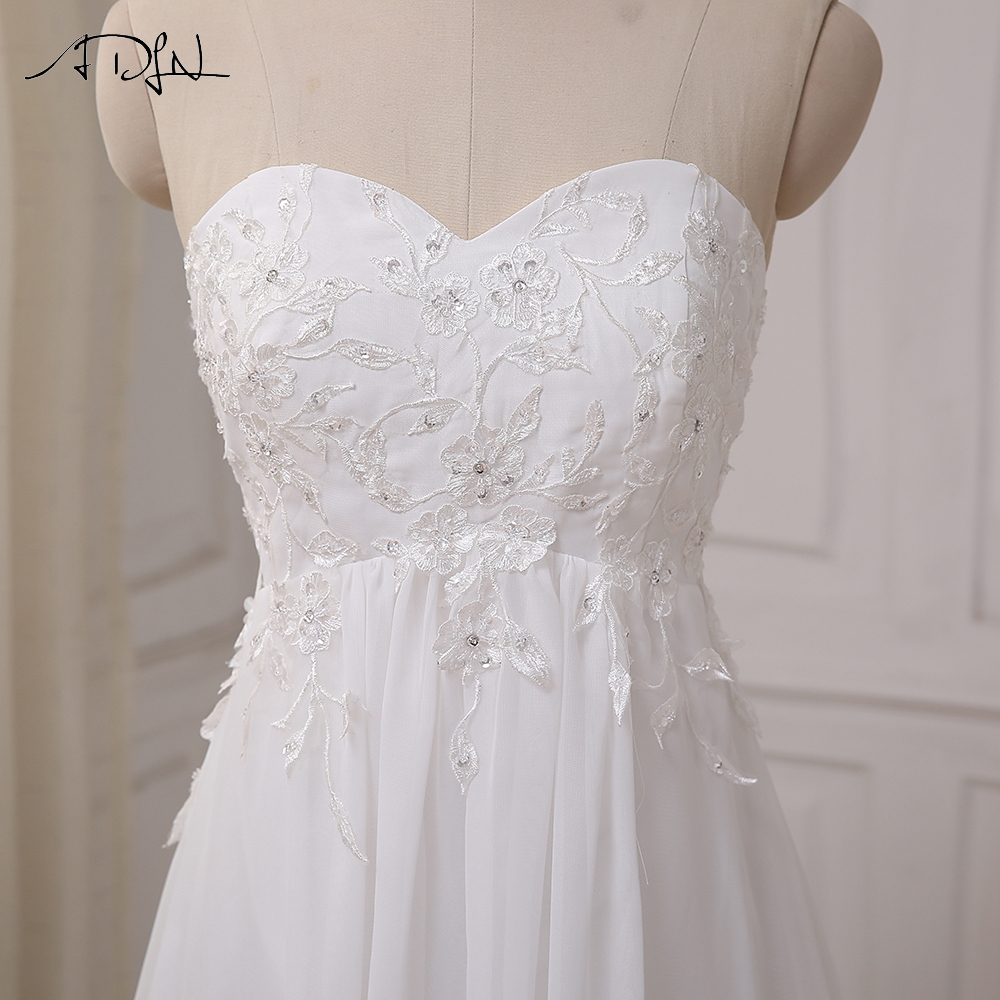 ADLN Φτηνές Φόρεμα Γάμου Sweetheart - Γαμήλια φορέματα - Φωτογραφία 5
