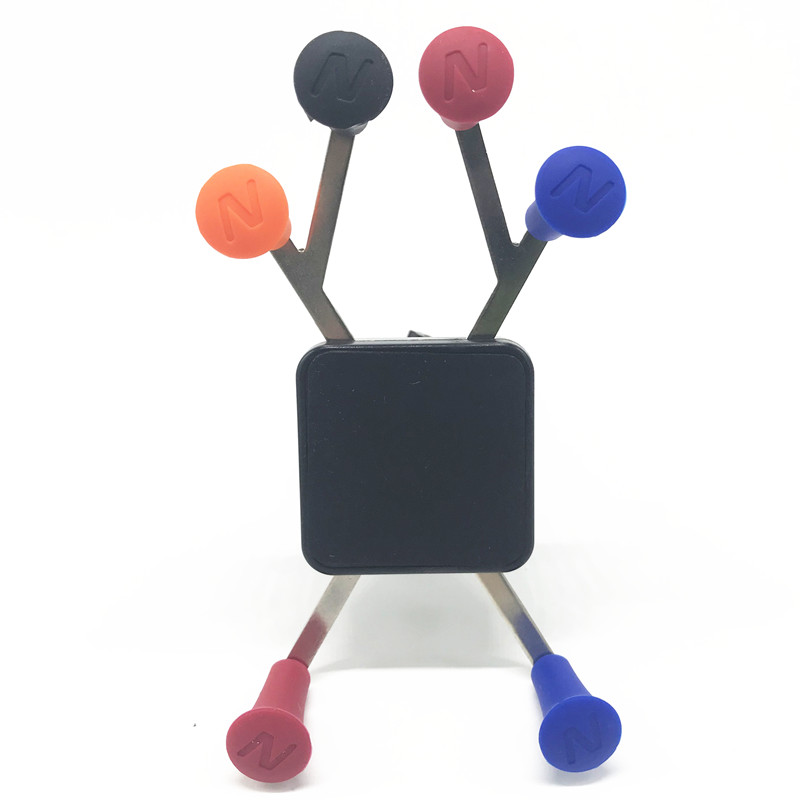 Color: Black 4pcs X Grip Post Caps for ram Mount 1 inch Ball x Grip Phone Smartphone Cradle Holder Mount
