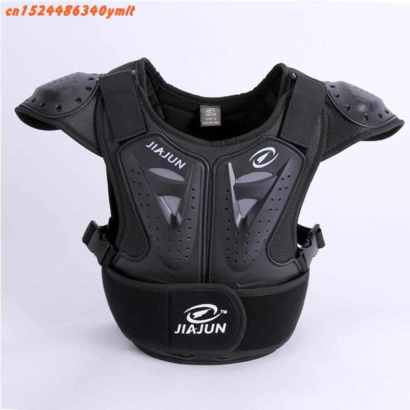 Детская защита для тела, мотоциклетная куртка, мотоциклетная куртка для мотокросса, майка без рукавов, защитная куртка для позвоночника и груди