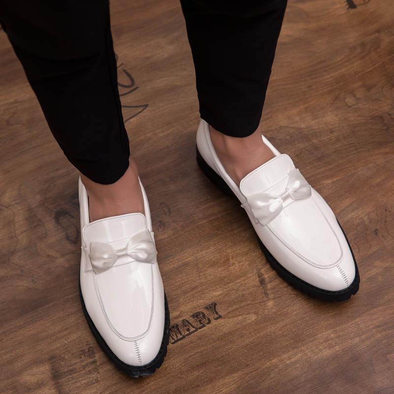 formal men leather shoes male trend Bow slip on footwear cool italian luxury brand wedding dress moccasins oxford shoes for men (29)