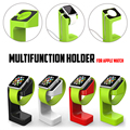 Newest Fashion Design Luxury Desktop Stand Holder Charger Cord Hold E7 Stand Holder For Apple Watch Holder for iWatch