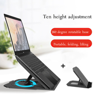 Laptop Stand Tablet Stand Desk Universal for Apple MacBook Air Pro 11 17 inch Folding Adjustable Holder support Office Notebook