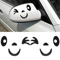 Hot sale Smile Face Design 3D Decoration Sticker For Car Side Mirror Rearview factory price wholesale