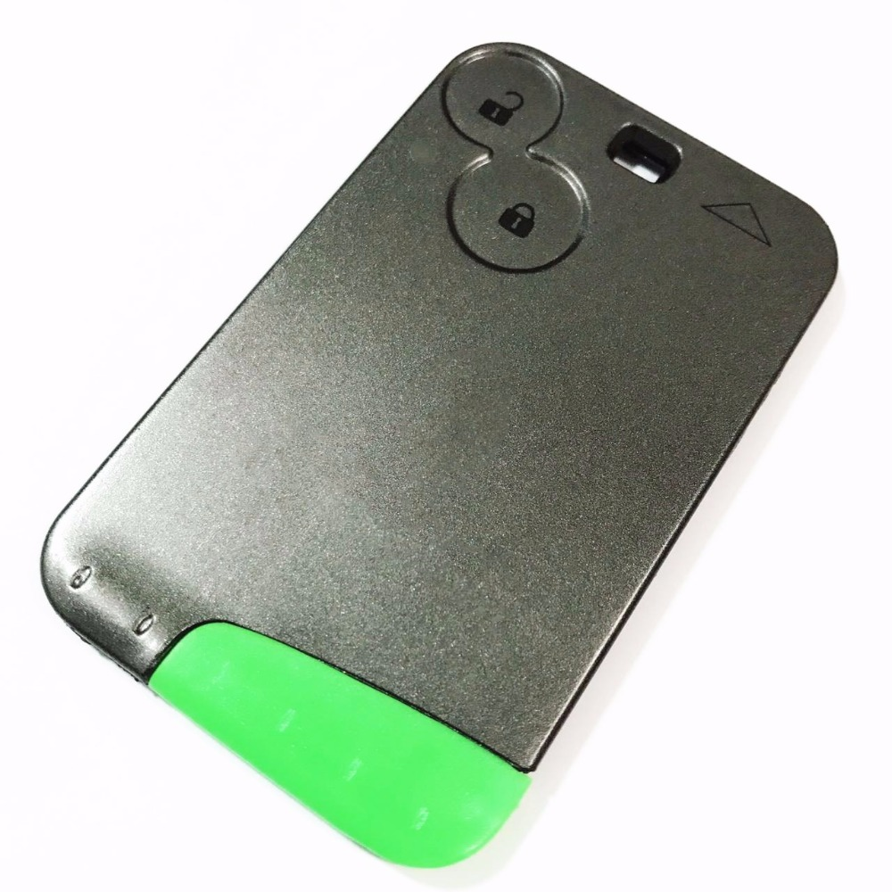 Replacement 2 Button Remote Key Card Shell Case For RENAULT Laguna Smart Card Key Remote FobReplacement 2 Button Remote Key Card Shell Case For RENAULT Laguna Smart Card Key Remote Fob