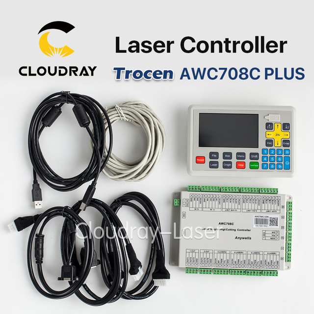 Cloudray Trocen Anywells AWC708C PLUS Co2 Laser Controller System ...