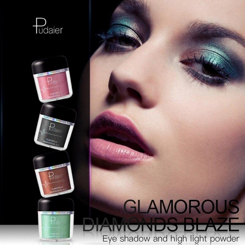 New Single Baked Glitter Long Lasting Eye Shadow Powder Eyeshadow Palette Makeup 28 Colors Maquiagem M2