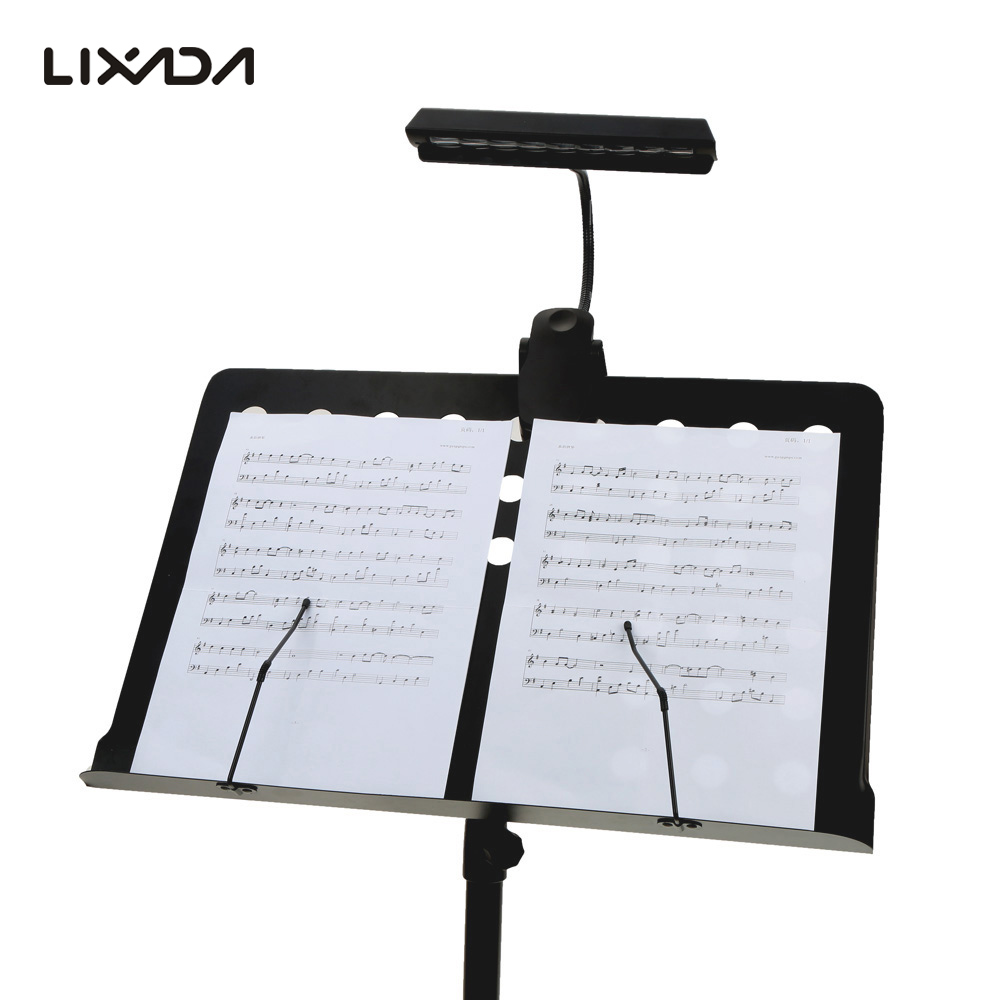 Portable Flexible Bendable 9 Leds Orchestra Piano Music