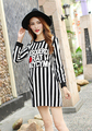Tops Maternity women striped dress funny for pregnant Autumn Spring T-shirts pregnancy work clothes long sleeve xxl 2015 Blouses