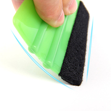 Инструмент для очистки стекла автомобиля скребок скребковый инструмент с мягким Войлоком Для автомобилей оконная виниловая пленка наклейка скребок