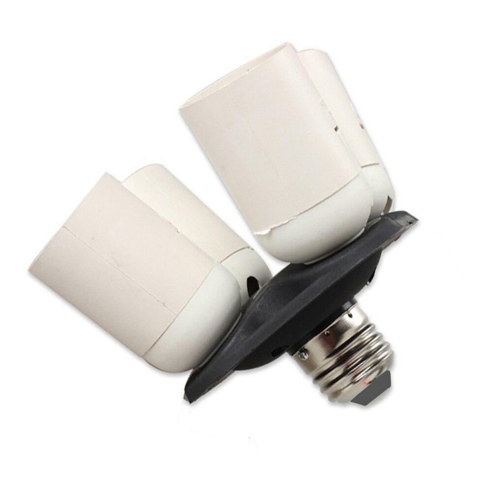 4 in 1 E27 Base Light Lamp Bulb Socket Splitter Adapter Studio Photography BS цена