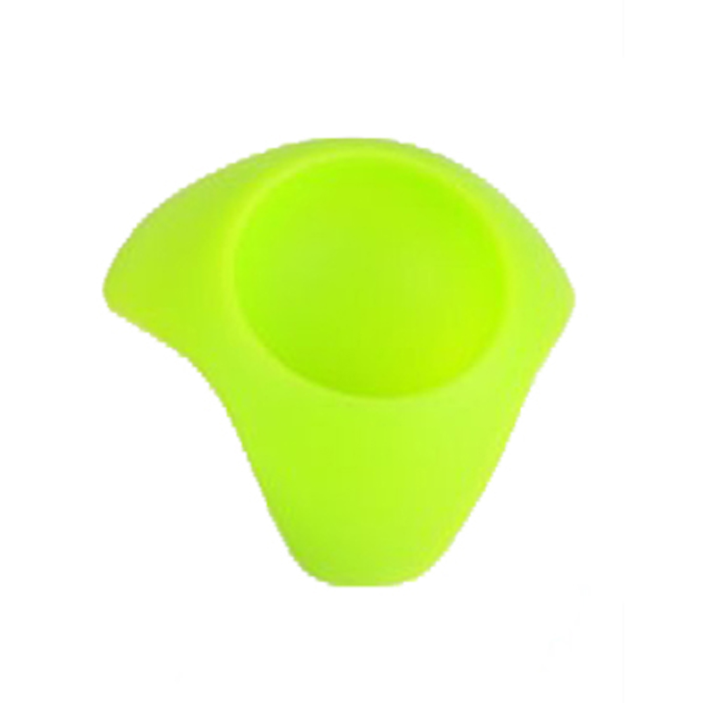 1 PC Egg Seat Colorful Silicone Put The Egg Creative Food Grade Silicone Egg Cup Holder Resting Eggs Frame Seat Color Random