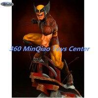 Marvel Statue X Men Full Length Portrait Wolverine Bust Brown Version Action Figure Collectible Model Toy 51 CM WU839