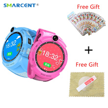 SMARCENT Q360 Kids Smart Watch with Camera GPS Location Child Touch Screen smartwatch SOS Anti-Lost Monitor Tracker pk Q50 Q90