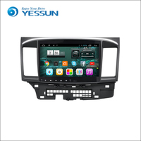 YESSUN Android Radio Car DVD Player For Mitsubishi Lancer stereo radio multimedia GPS navigation with WIFI Bluetooth AM/FM