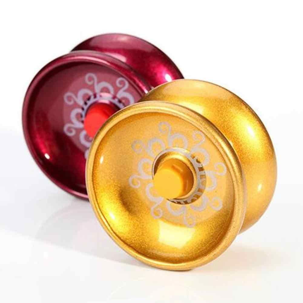 Yoyo de aleación de aluminio de diseño nuevo de alta velocidad, Bola de YoYo profesional, yo-yo truco, malabares mágicos para niños, 1 unidad