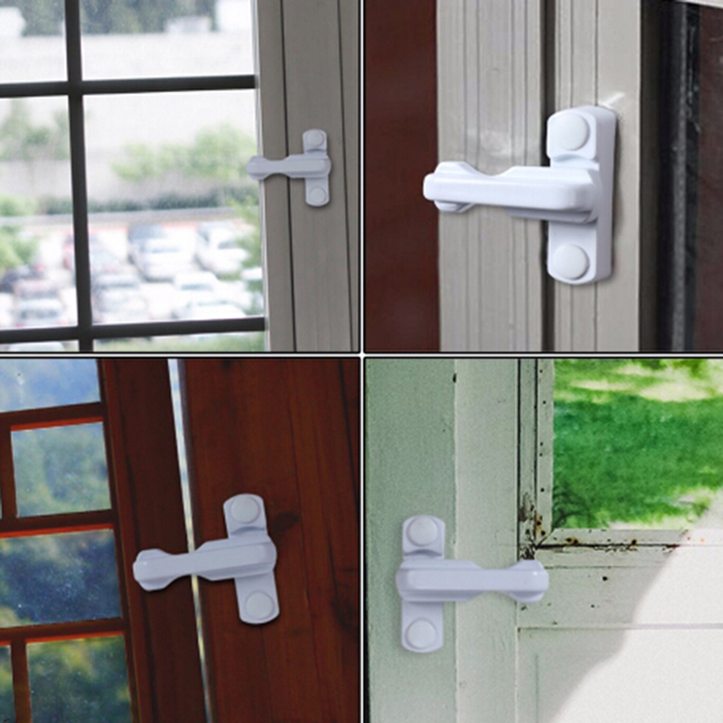 New Hot High Quality Baby Safety Lock Window & Door Security Baby Safety Lock Catch Replacement Security  Protection