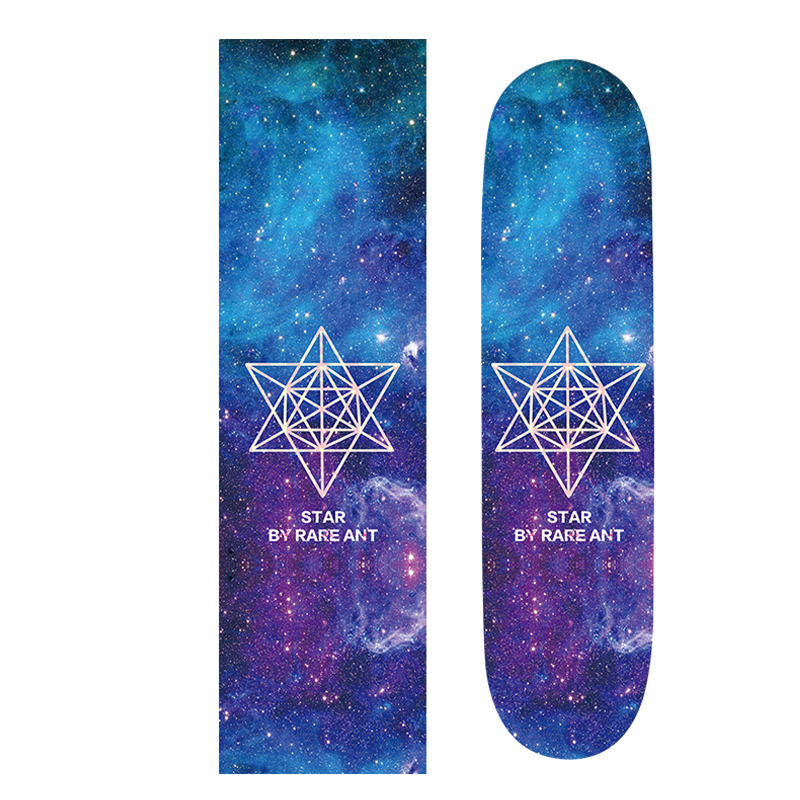 Space Star Professional 83cm Long Skateboard Griptape Anti-Skid Skate Board Rough Sandpaper For Peny Board Longboard Skateboard