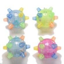 1 шт. детские танцевальные бамбли прыгающие цветные Мячи Детские Рождественские электрические игрушки подарки цвет случайный
