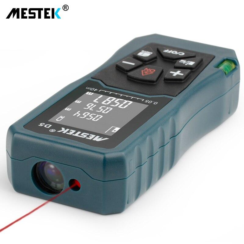 Image 4 - MESTEK Laser Distance Meter 40/60/100m Laser Meter Trena a Laser Range Finder Metro Laser Build Measure Device Ruler Test Tool-in Laser Rangefinders from Tools
