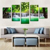 HD Imprimir Pintura sobre lienzo decoración de la habitación de flores de colores de primavera de impresión Envío Libre de la lona impresiones imagen/ny-2952