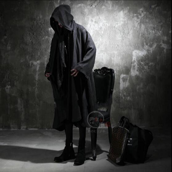 Jacken & Mäntel Trench 2019 Neue Männliche Koreanische Hip-hop Metrosexual Strickjacke Mit Kapuze Windjacke Leinen Sommer Stil Manschette Lange Dünne Mantel Plus Größe Kostüme Moderater Preis