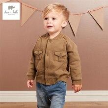 DB3868 дэйв bella baby мальчики army green пальто младенческой верхняя одежда toddle пальто ребенком пальто