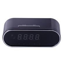 EDAL 1080P H.264 Table Clock Camera Alarm Setting Mini Camera IR Night Vision Wifi Cam IP Clock Camera Mini DV DVR Camcorder