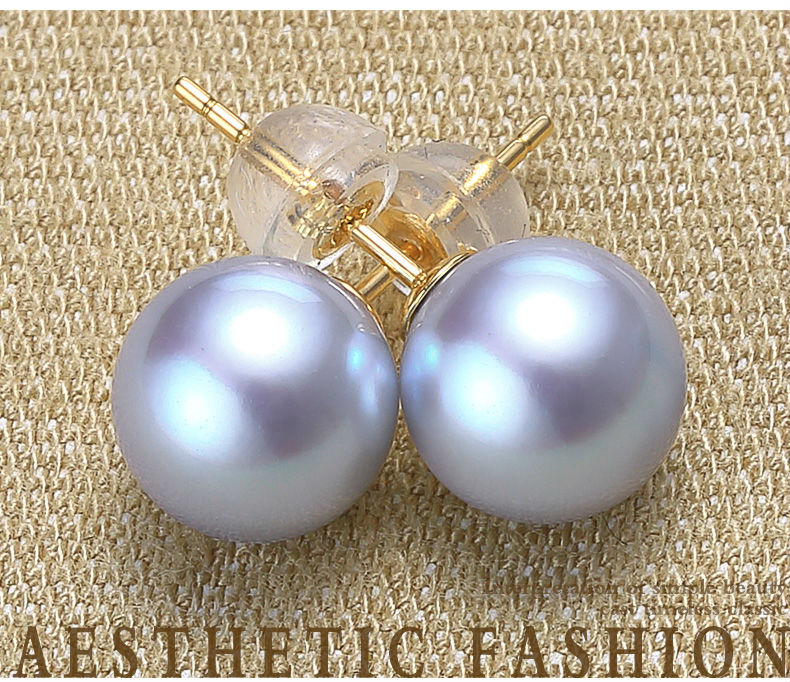 gold akoya pearls earrings jewelry 103