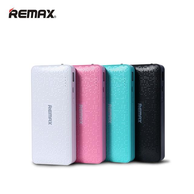 REMAX Banco de la Energía 10000 mAh Proda 18650 LED de Copia de seguridad Externa Cargador de Batería Del Teléfono Celular Móvil Powerbank cargador portátil Al Aire Libre