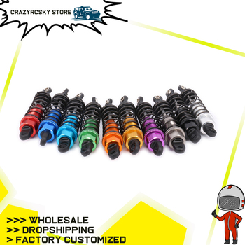 2PCS Alloy Oil Filled Style Front Shock Absorber Damper 0016 For Rc Model Car 1-12 Wltoys 12428 12423 0016 FY03 Truck Monster image
