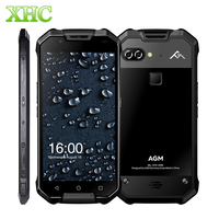 AGM X2 6GB+64GB Smartphone Fingerprint ID 12.0MP 16.0MP 6000mAh IP68 Waterproof 5.5'' Android 7.1 Octa Core OTG NFC Mobile Phone