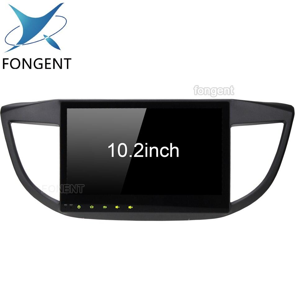 Carplayer Multimediale Android Per Honda CRV 2012 2013 2014 2015 2016 Octa Core da 10.2 pollici IPS Dello Schermo di Radio Glonass GPS di navigazione