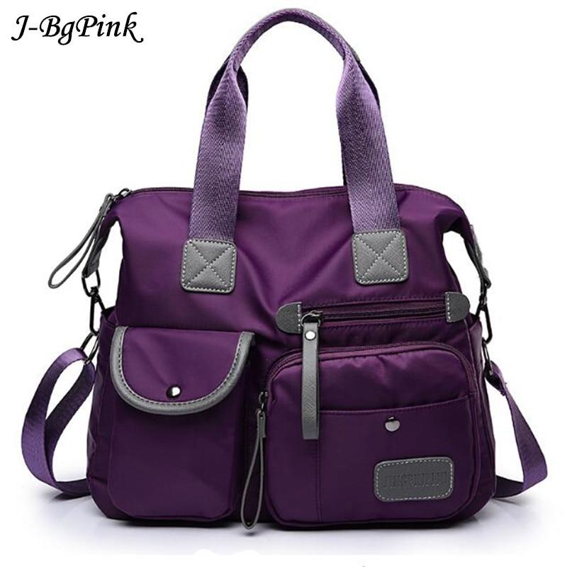 New Arrival Women Handbag Large Capacity Casual Messenger Bags Women Nylon Waterproof Vintage Crossbody Shoulder Bag bolso mujer