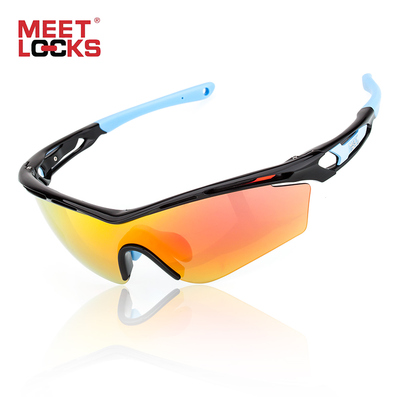 Meetlocks Professional Cycling Sunglasses Full Nano Coating Lens UV400 Protection Shatterproof Anti-fog Bike Riding Eyewear nbike 0943 uv400 protection revo red resin lens cycling sunglasses wine red