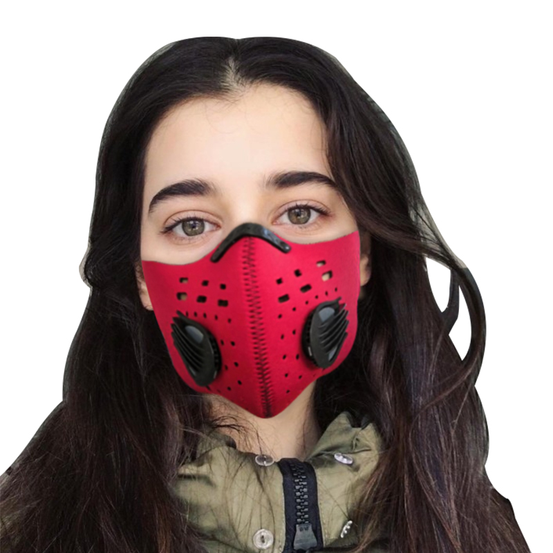 GLORSUN Washable Dust Fresh Air Filter Motorcycle Face Cycling Mask Fine  Wholesale Smog Custom Training Sports Pollen Mask