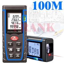 rangefinder digital laser range finder distance meter 40 M/60M 80 100M tape measure device ruler Angle volume test tools(China (Mainland))