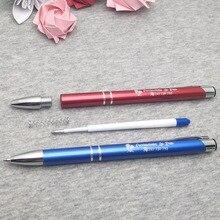 Quality ballpoint pen personalized ballpoint pen lase print logo/text Pen Stationery office/school writing pen free shipping цены онлайн